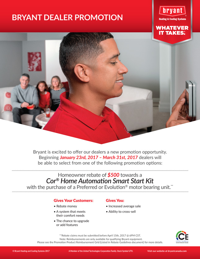 Discount home automation coupon